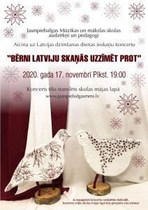 Latvijas dzimšanas dienas ieskaņu koncerts